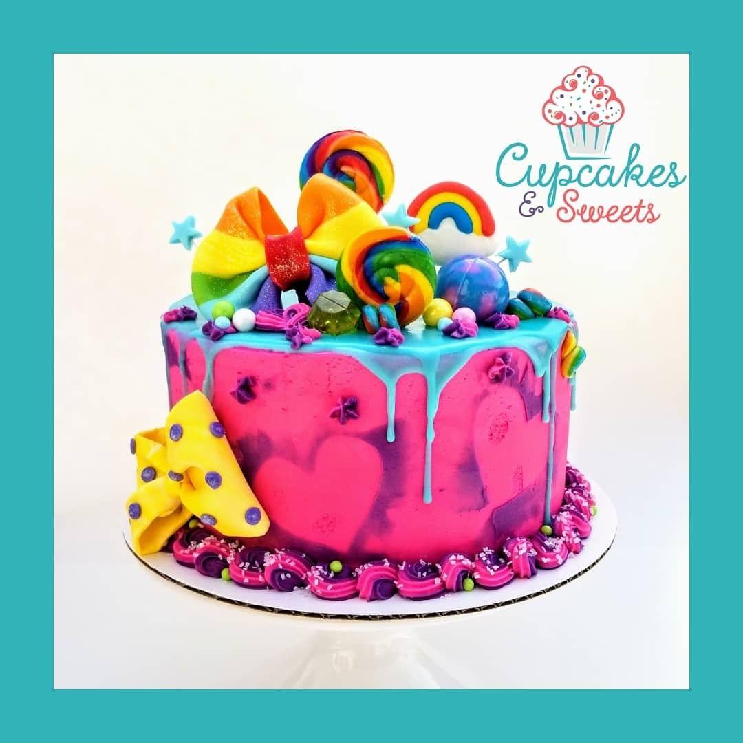 Sensational Buttercream Chocolate Drip Candy And Glitter Jojosiwacake Funny Birthday Cards Online Necthendildamsfinfo