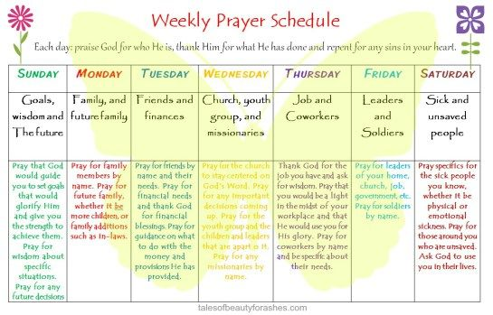 graphic about Printable Monthly Prayer Calendar known as Totally free printable weekly prayer timetable for your War Area or