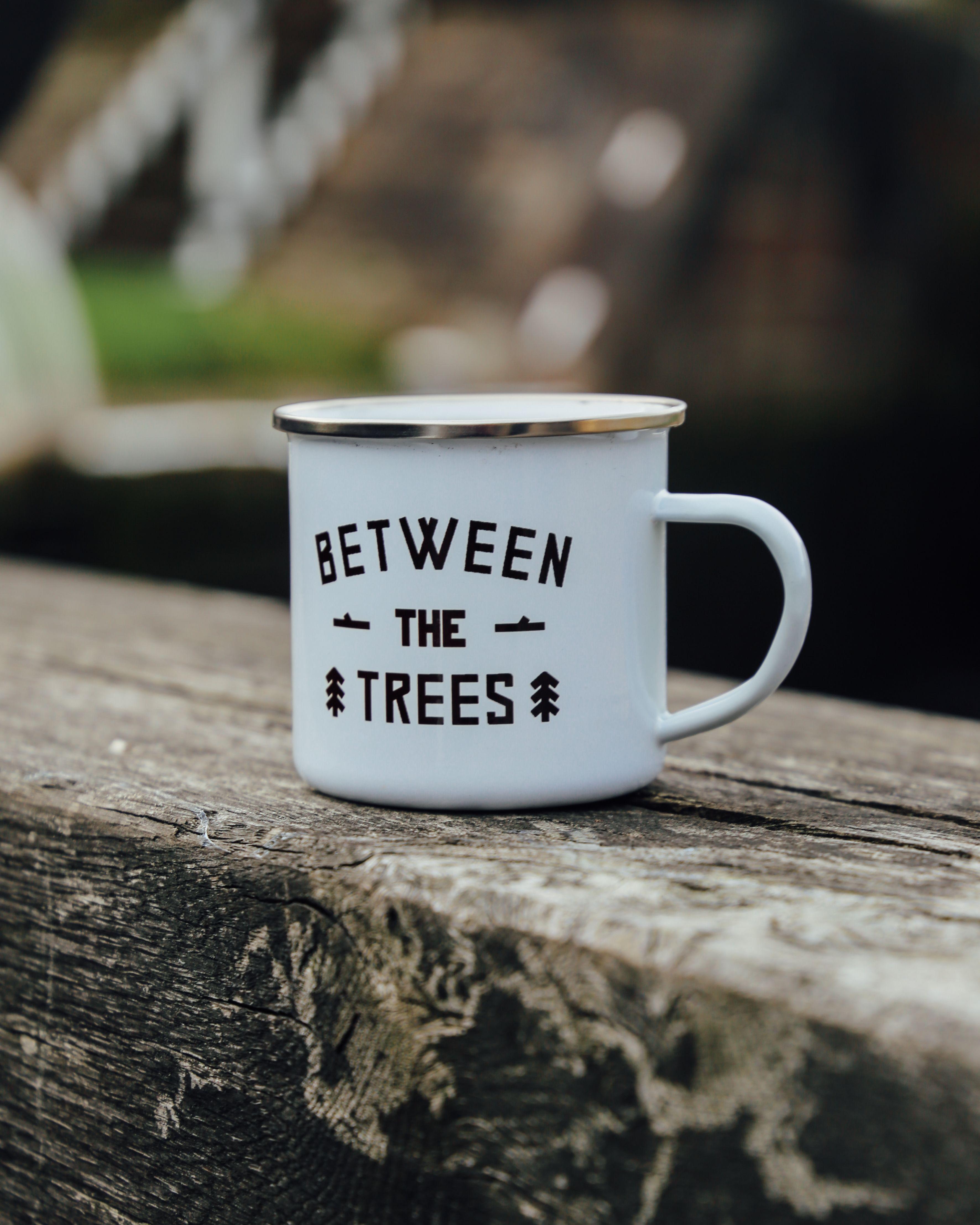 NEW PRODUCT Custom printed enamel mugs printed in full colour