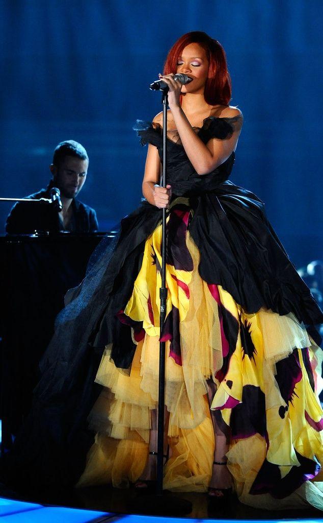 Rihanna at the 2011 Grammy Awards