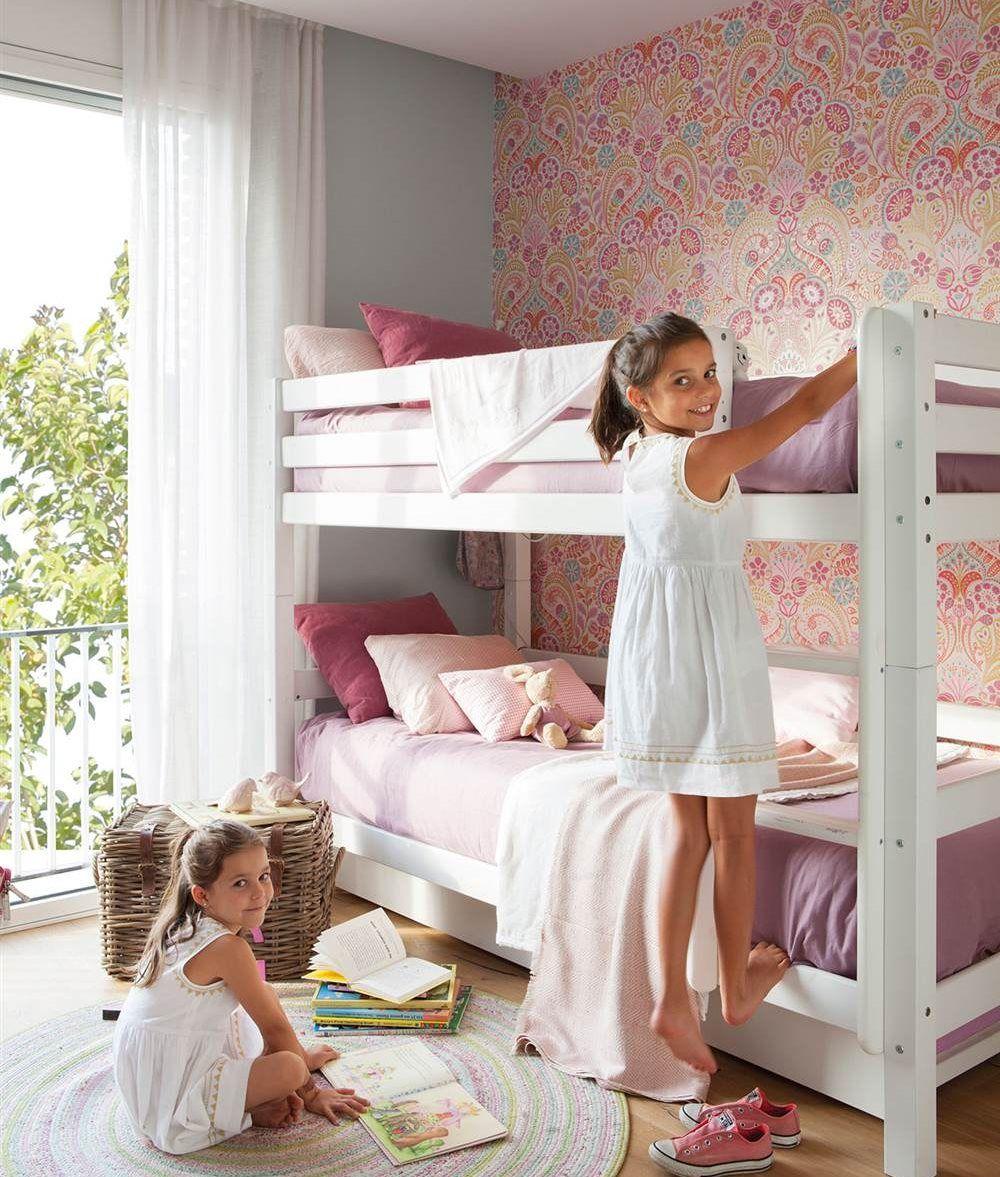 Habitaciones Infantiles Muy Personales Con Papel Pintado  ~ Papel Para Habitaciones Infantiles