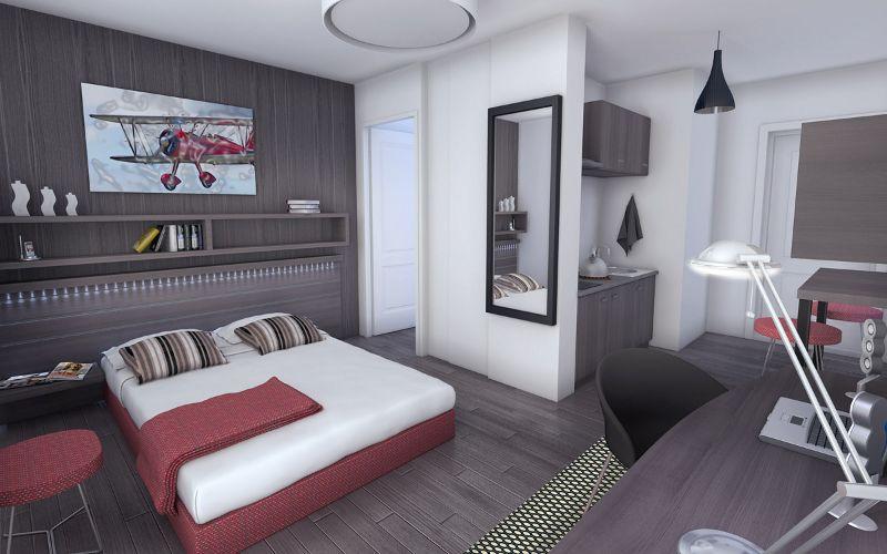 Logement tudiant t2 2 chambres toulouse logement - Logement etudiant strasbourg meuble ...
