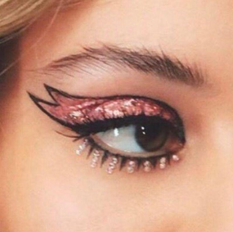 El maquillaje de Euphoria, la serie de HBO