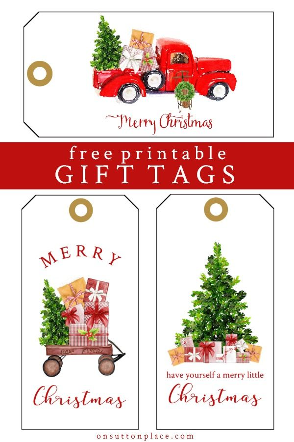 Printable Christmas Gift Tags Vintage Style Festive On Sutton Place Christmas Gift Tags Printable Christmas Tags Printable Diy Christmas Tags