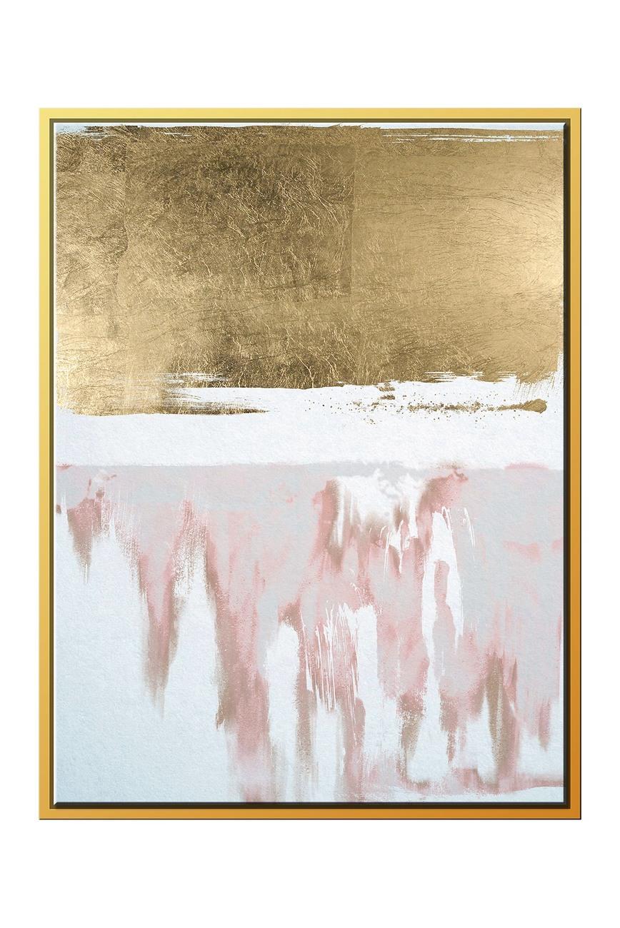 Ptm Images Golden Drip Large Floater Framed Canvas Nordstrom Rack Canvas Wall Art Painting Frames Canvas Frame