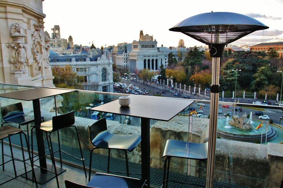 Palacio De Cibeles Plaza De Cibeles Rooftop Terrace