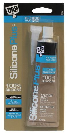 Dap Canada Dap Silicone Plus Premium All Purpose 100 Silicone Sealant Clear 83ml Sealant Dish Soap Bottle