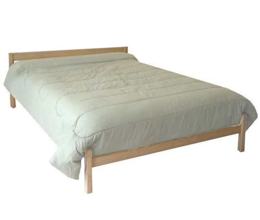 Pecos Platform Bed Twin Xl Size Extra Long Metal Platform