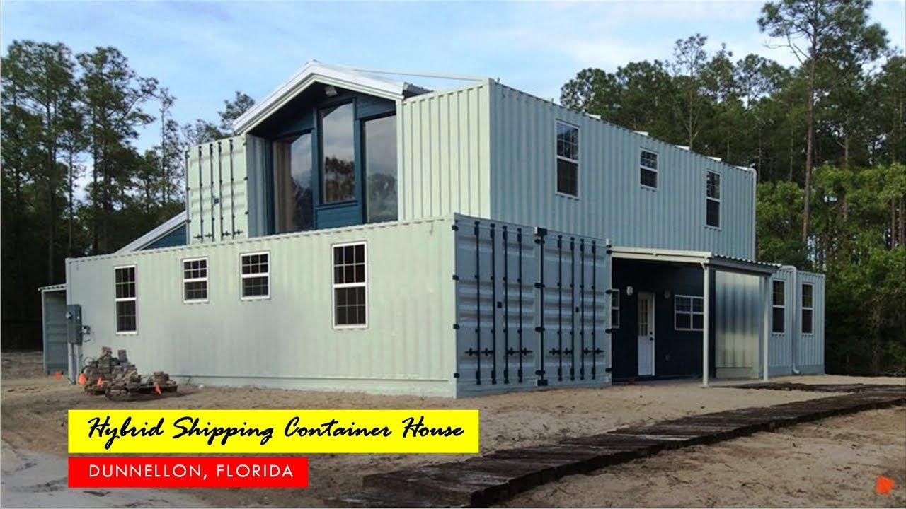 4000 Sqft. Hybrid Shipping Container Home in Dunnellon