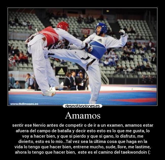 Amor A Taekwon Do Taekwondo Itf Técnicas De Artes