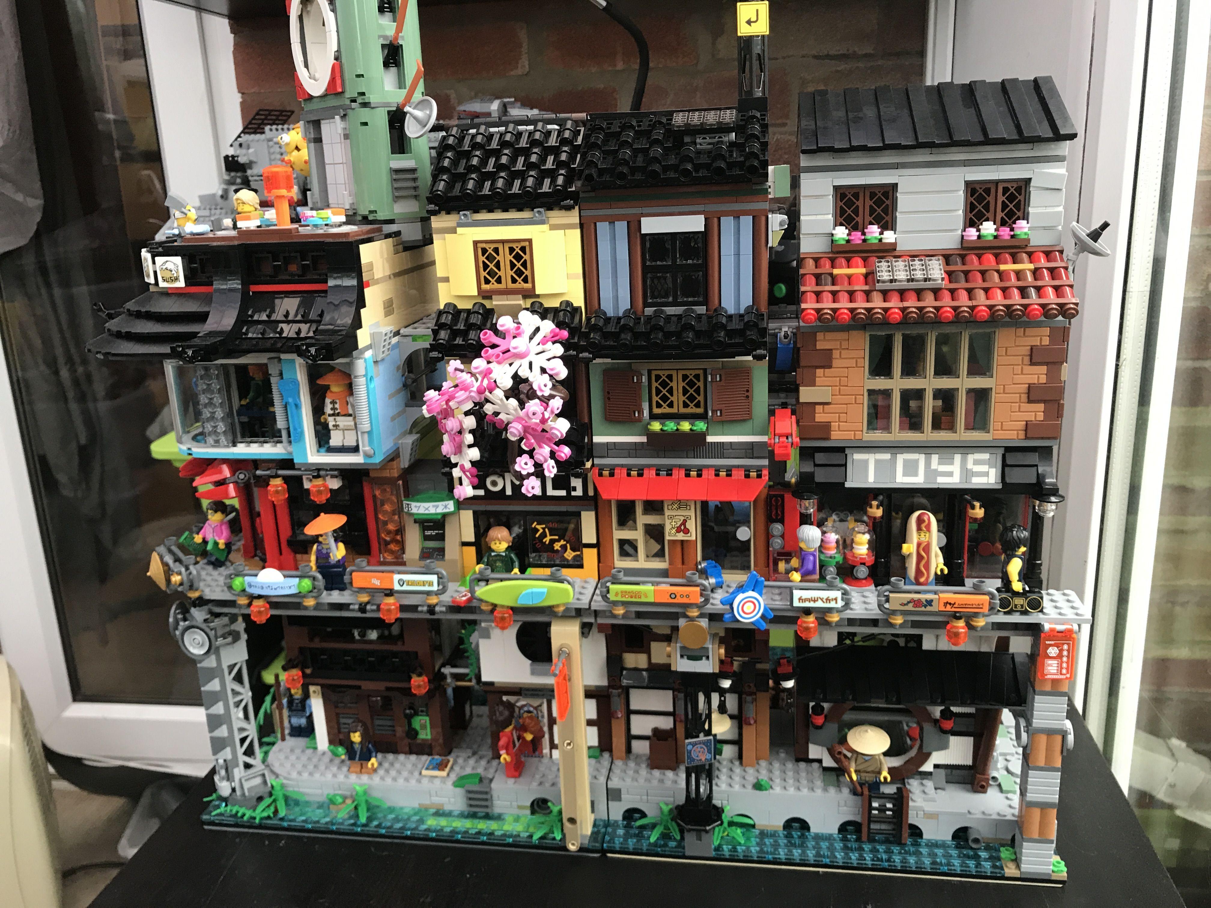 Https I Imgur Com Petswgk Jpg Lego Ninjago City Lego Lego Architecture