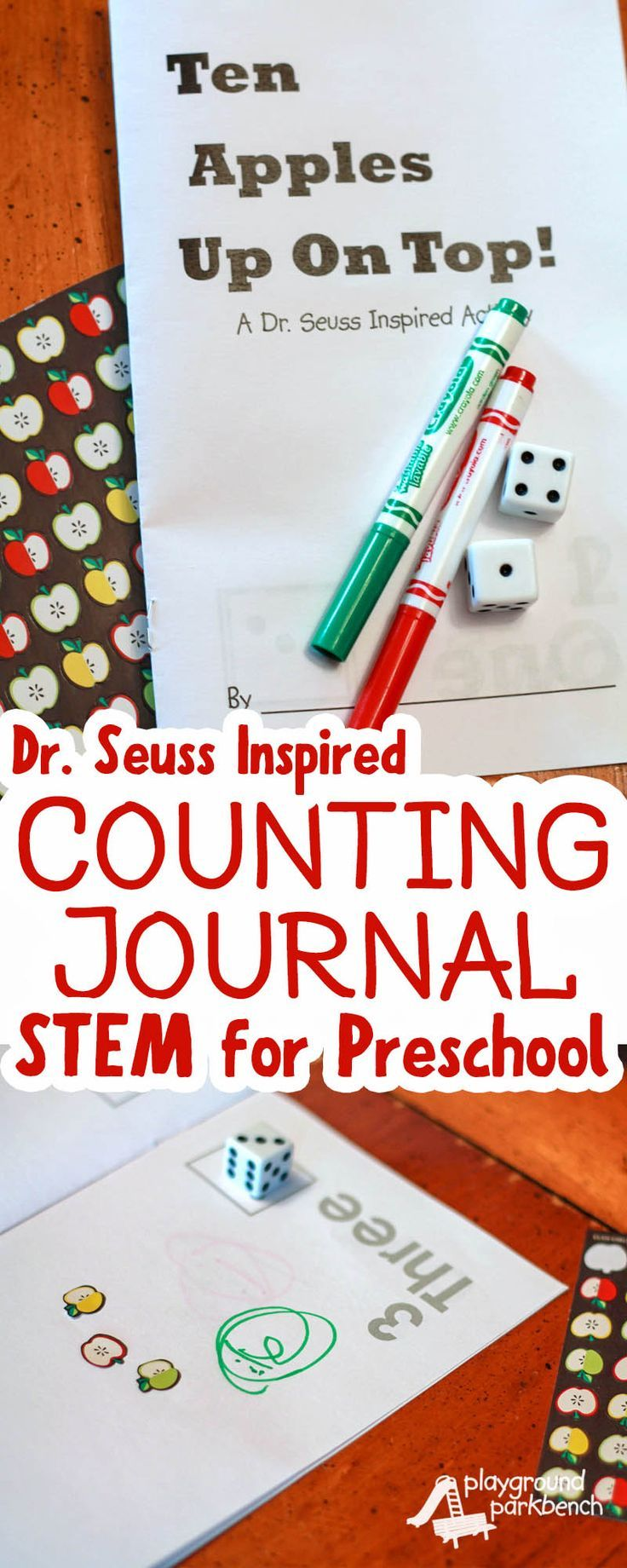 Document your child's numeracy skills with this Dr. Seuss