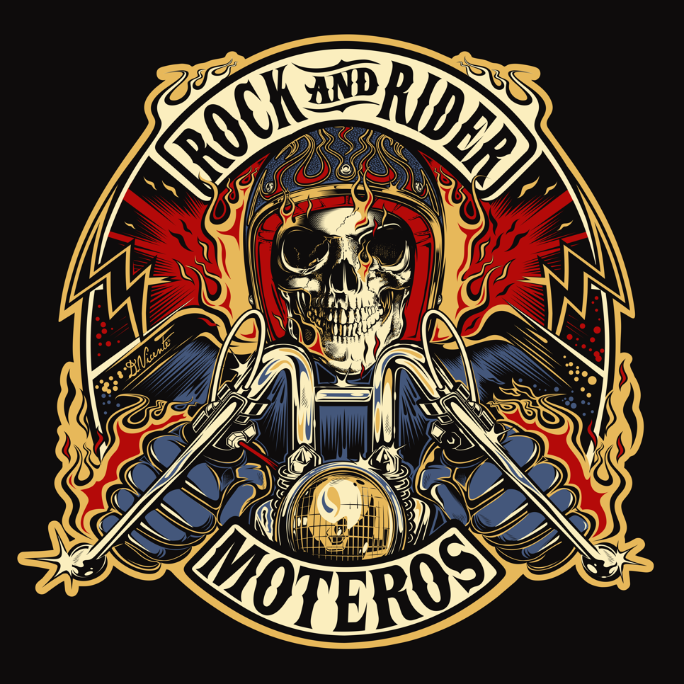 Design commission rock and rider spain 2015 moto for Tattoo art club