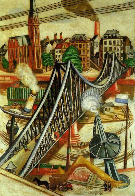 Max BECKMANN. La Passerelle. 1922.