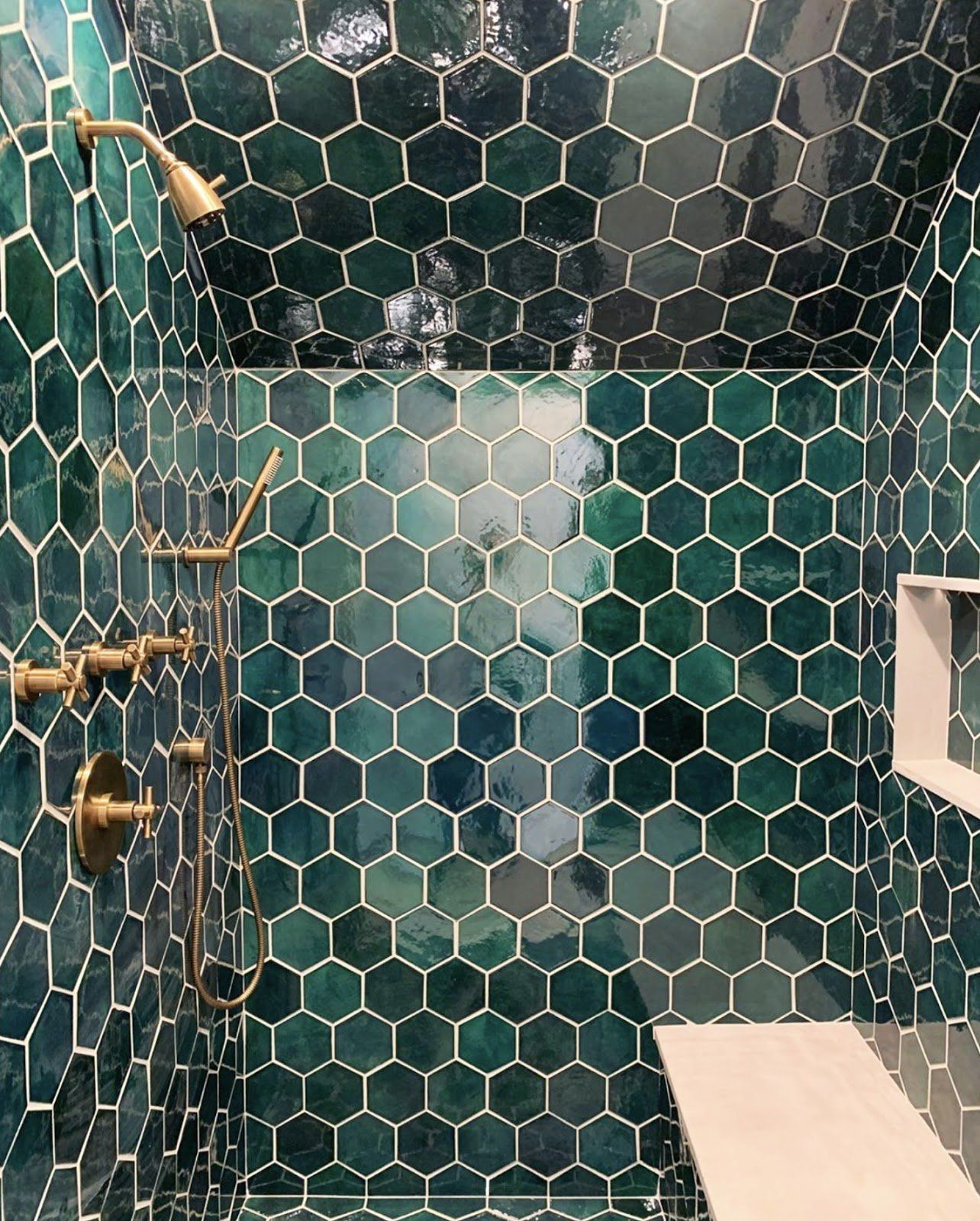 Tile Color Inspiration: Single-Hued Projects   Bohemian ...