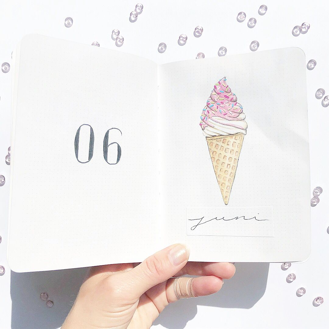 150+ Bullet Journal Monthly Cover Ideas [2020 New Edition] - AnjaHome #birthdaymonth