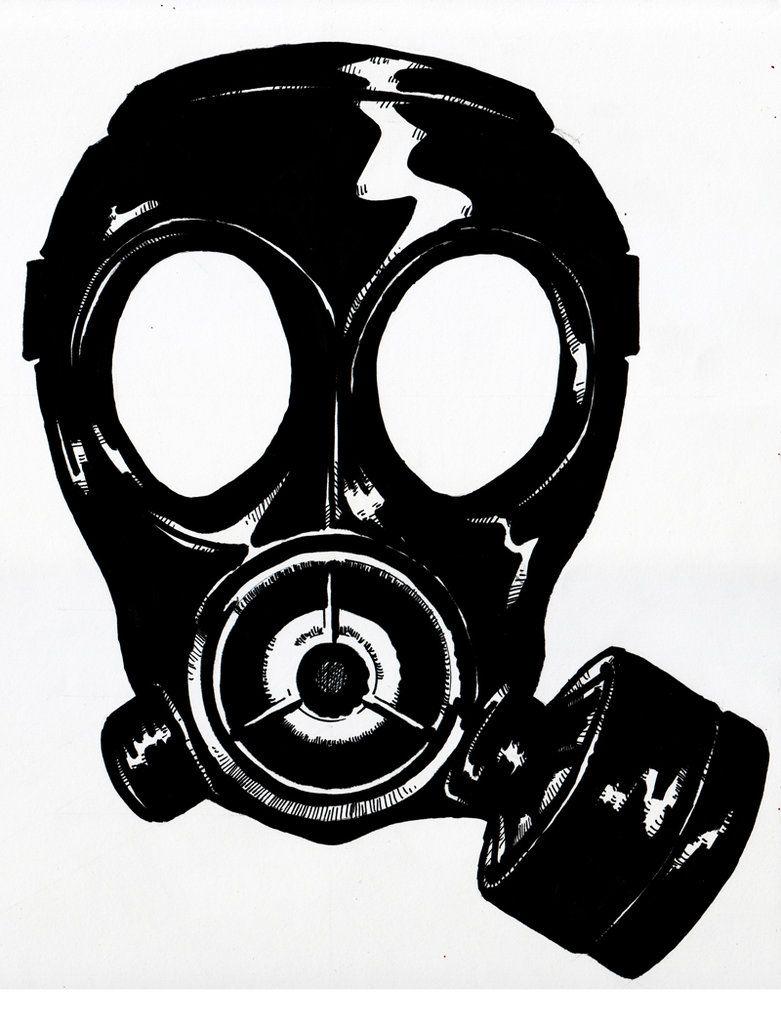 Gas Mask Silhouette Gas Mask Silhouette Gas Mask Gas Mask Art