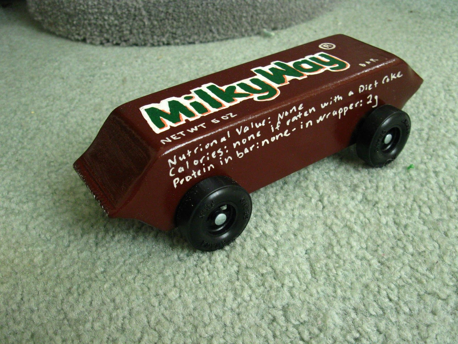 pinewood derby car designs candy | ... candy bar design didn\'t win ...