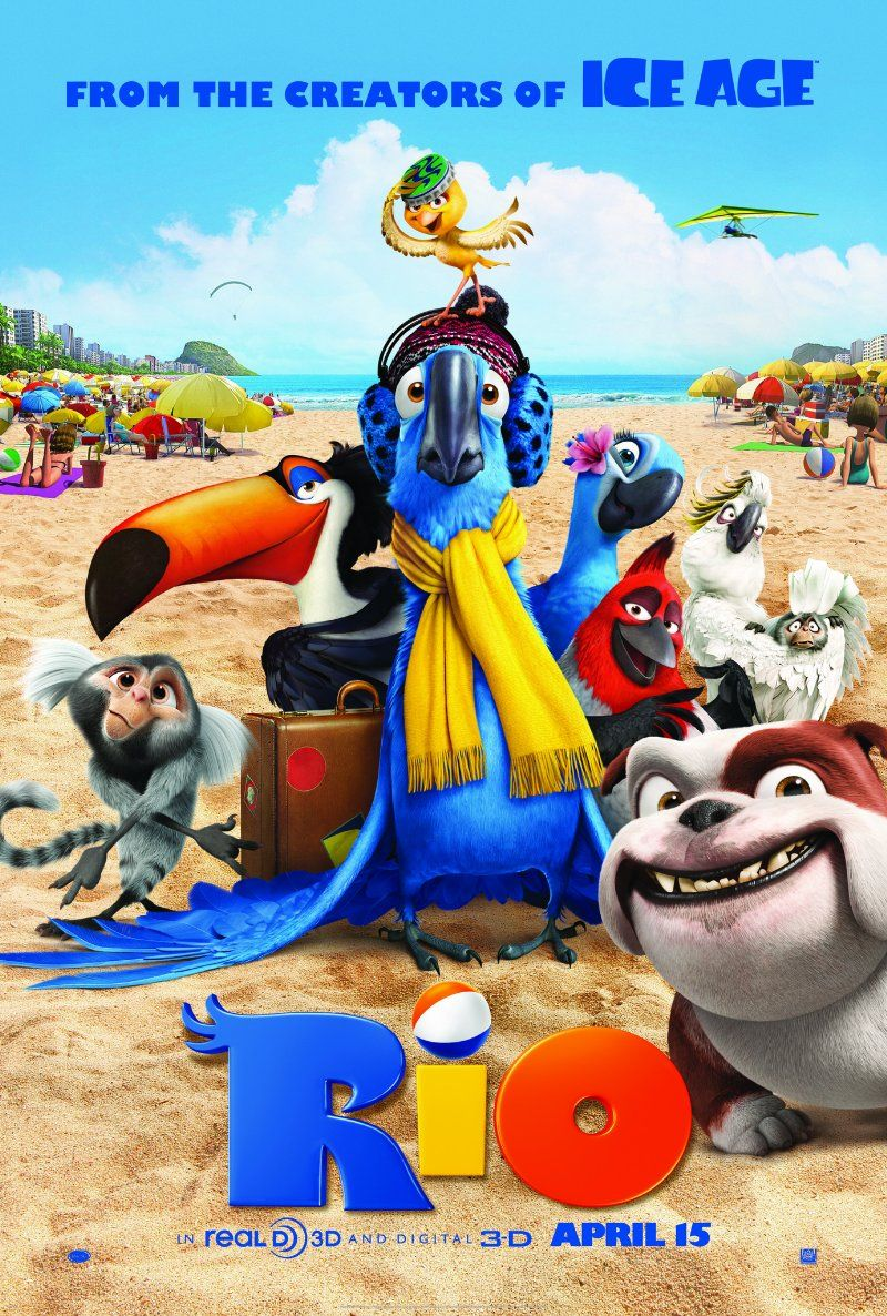 Rio Rio Is An Animated Feature From The Makers Of The Ice Age