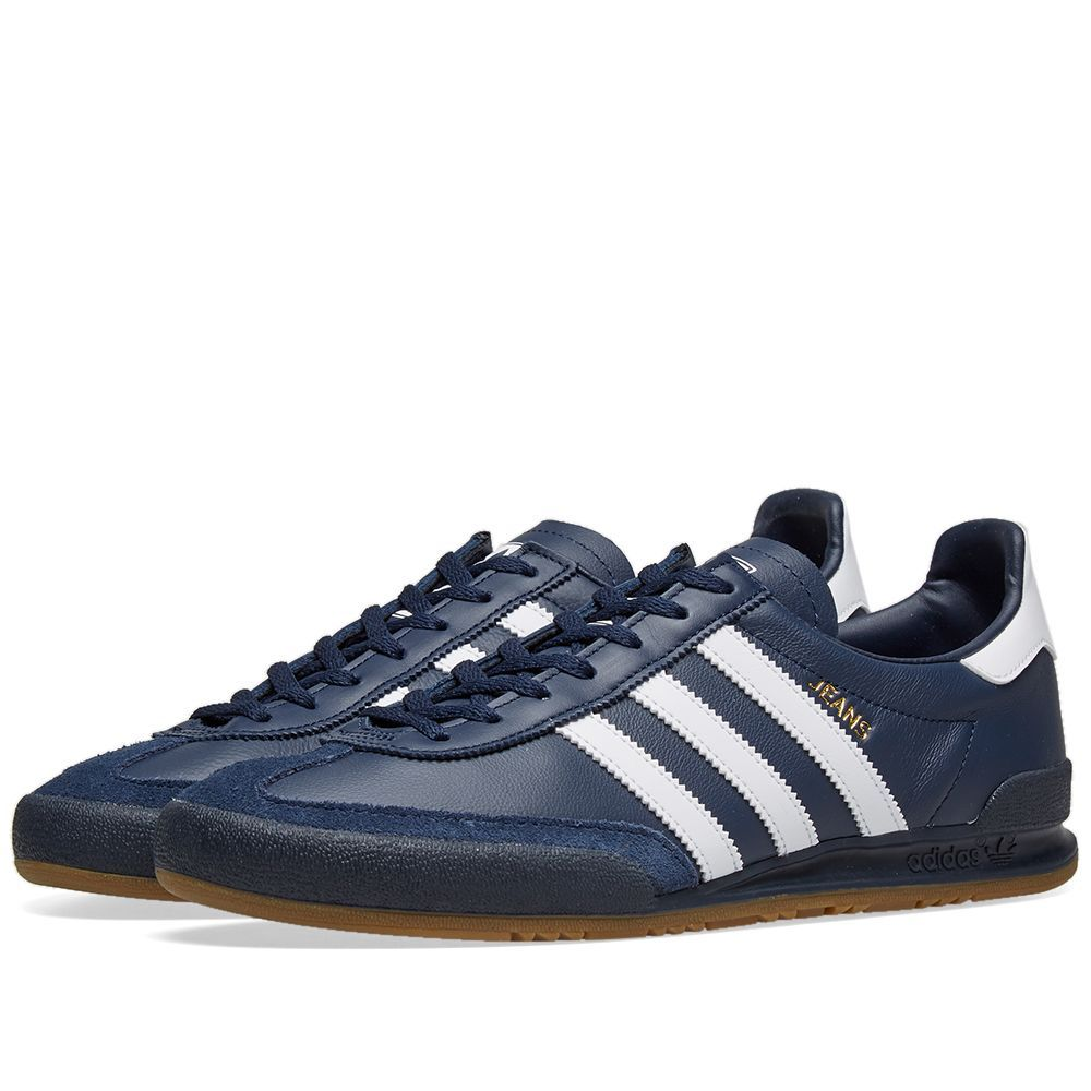 adidas jeans navy