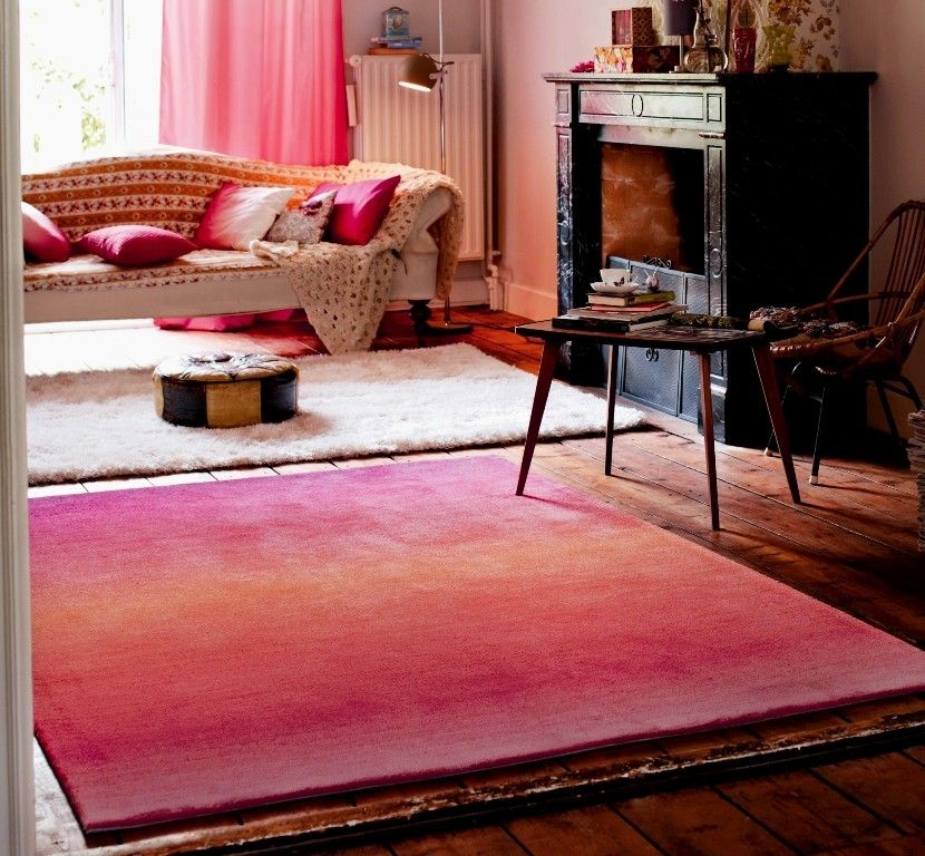 esprit - summer fun orange / pink / red image 1 (modern-rugs.co.uk ...