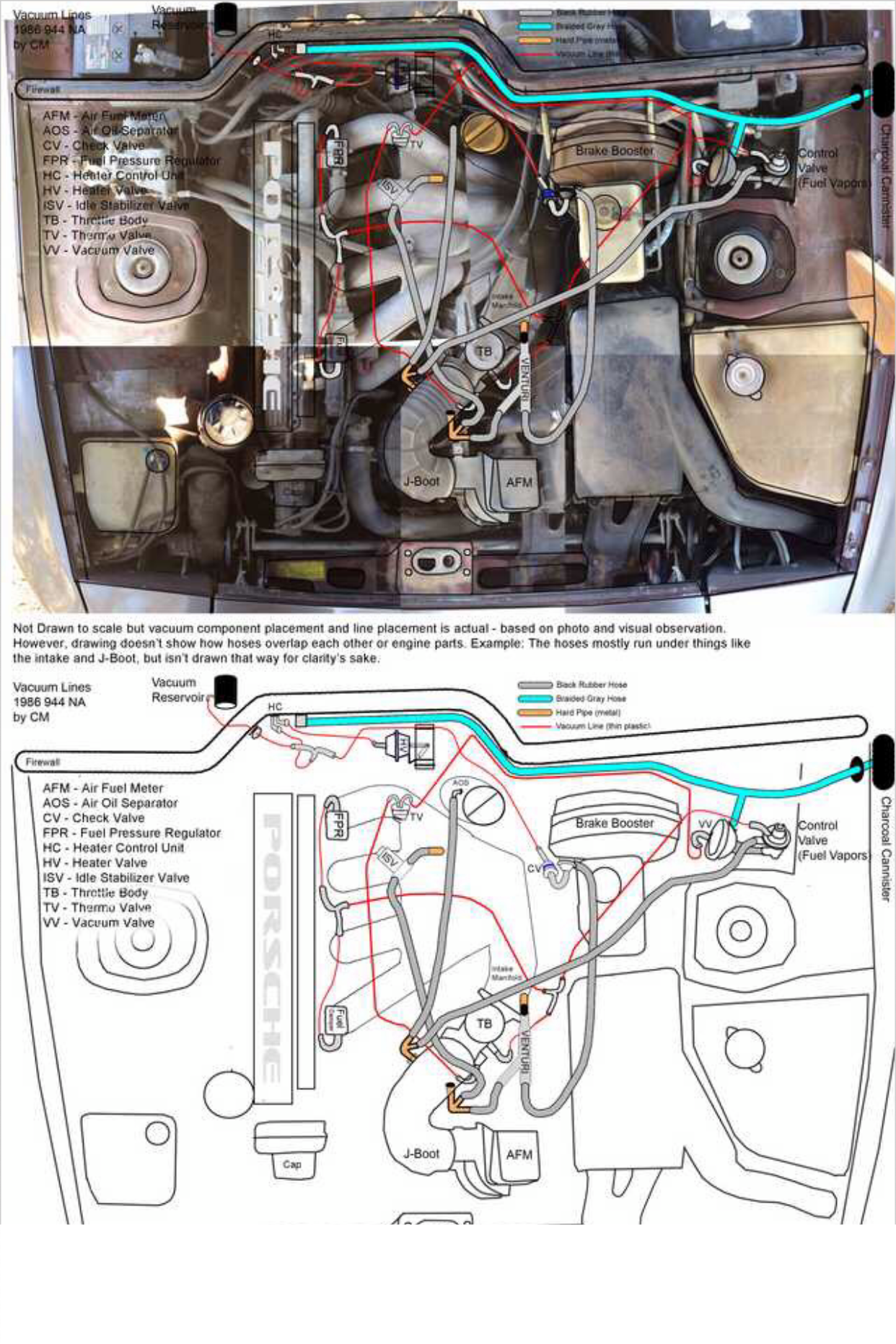 hight resolution of 1986 porsche 944 vacuum line diagram overlay porsche transaxles 1986 porsche 944 vacuum line diagram overlay