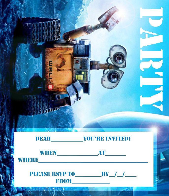 e party invitations