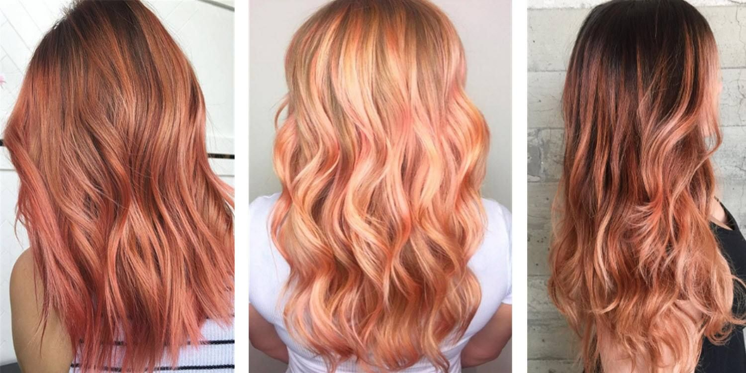 How To Rock Rose Gold Hair Color This Summer With Images Hair