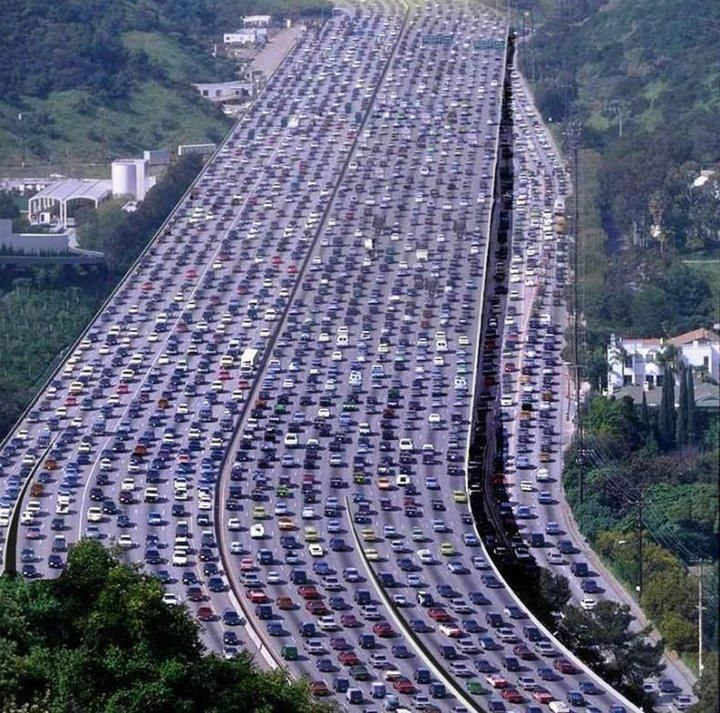 The Biggest Traffic Jam In The World It Happened In Beijing China