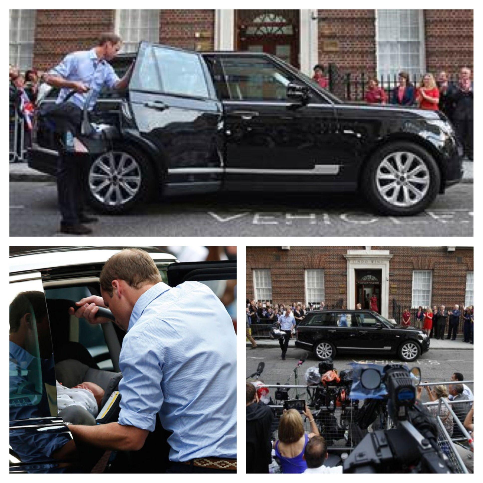 Range Rover...safe enough for The Royal