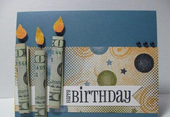 Открытки с днем рождения с деньгами своими руками