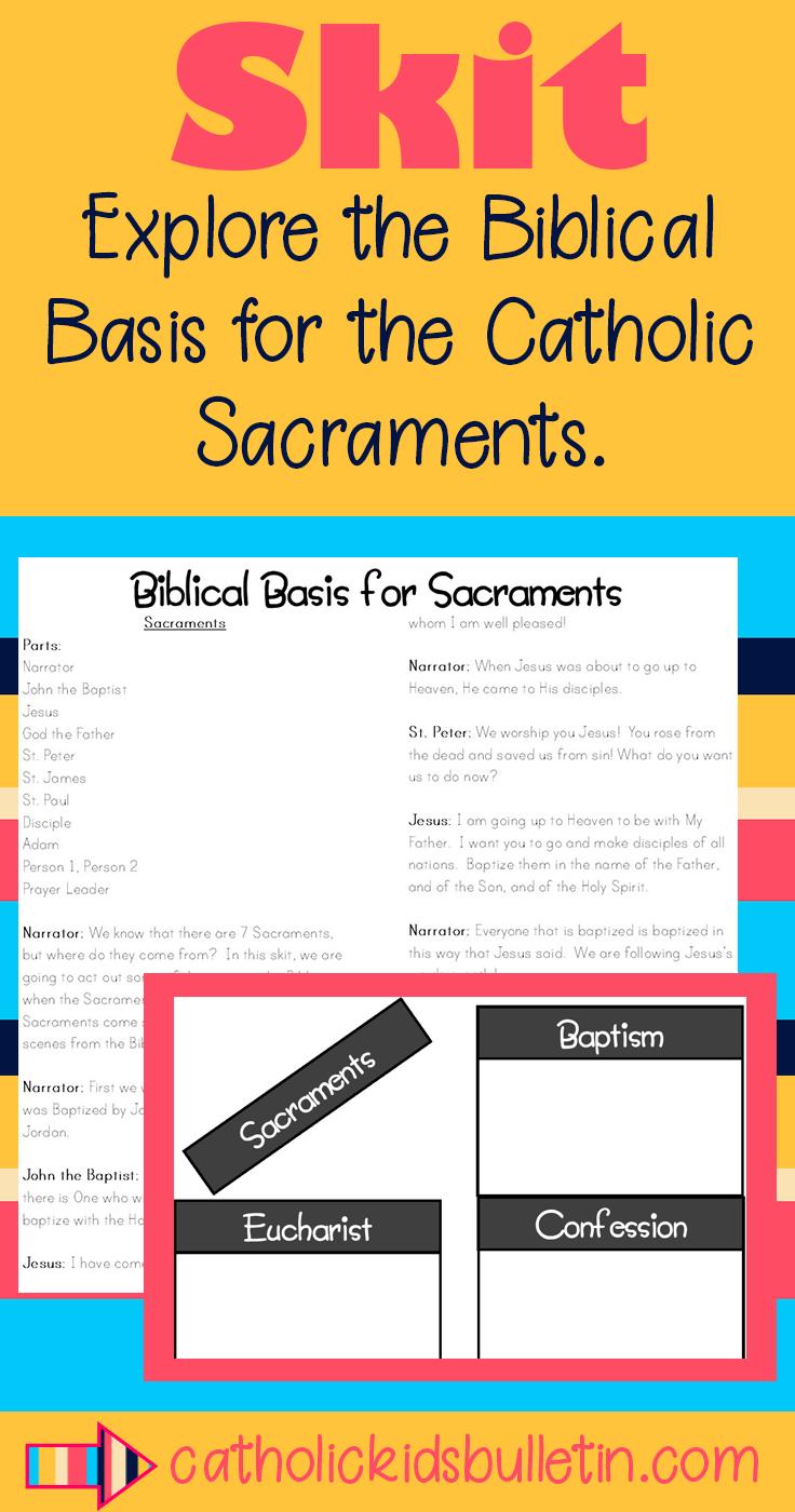 Biblical Basis for Catholic Sacraments