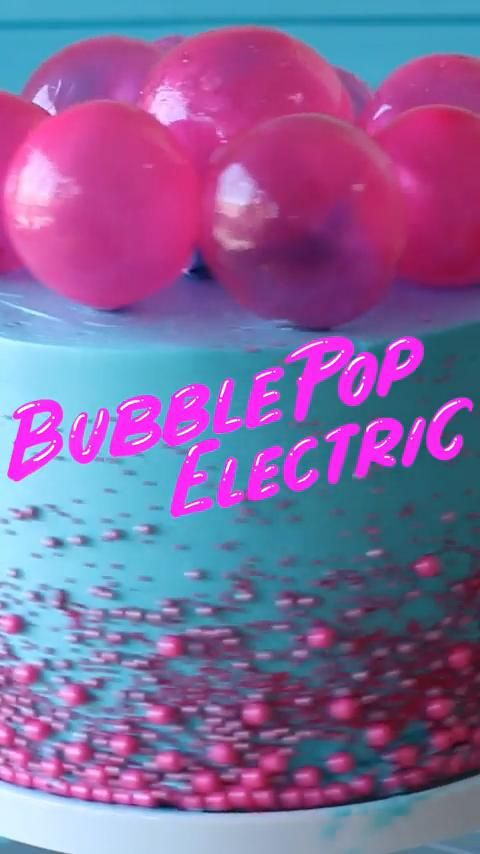 Photo of Delicious Bubbel Pop Electric Cake