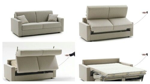 Lampo Motion Electric Sofabed By Milano