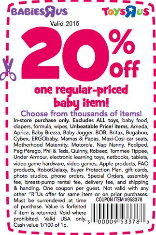 Baby R Us Printable Coupon : printable, coupon, Printable, Coupons:, Babies, Coupons, Coupons,