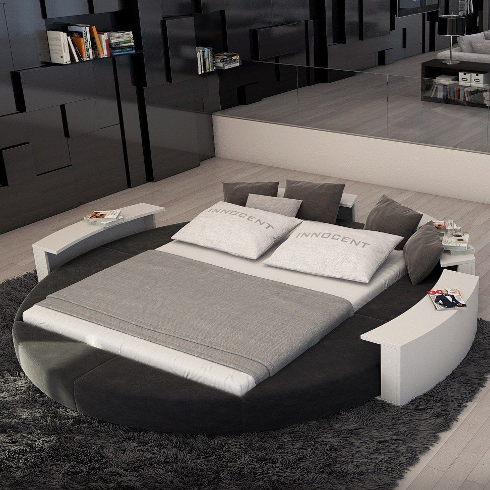 20 Incredible Round Bed Designs For Your Bedroom Round Beds Bed Design Modern Bedroom Round bed frame and mattress
