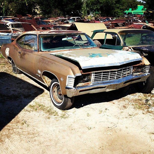 1967 Impala Super Sport 2 Door Hardtop Chevy Classic Chevy