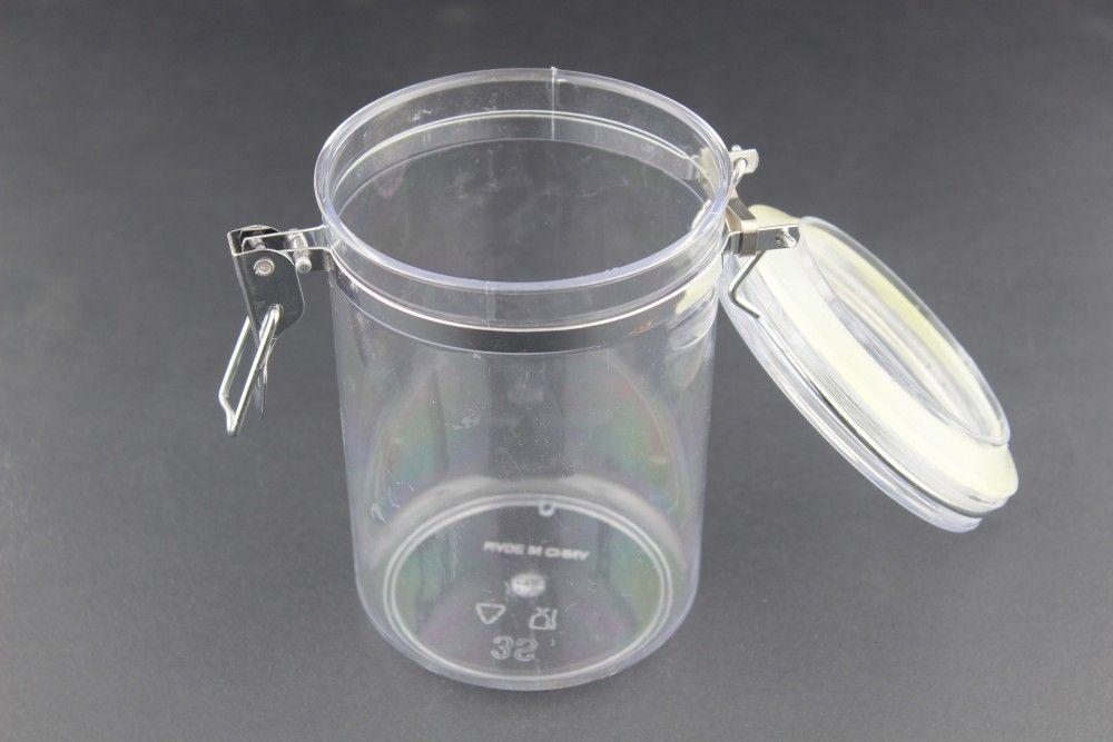 برطمان كريليك مزود بقفل يستعمل لحفظ البهارات والحبوب ويستخدم ايضا للحلويات الإغلاق غطاء محكم الغلق اللون شفاف السعة متوفر بخمسة احجام مختل Pitcher Serve