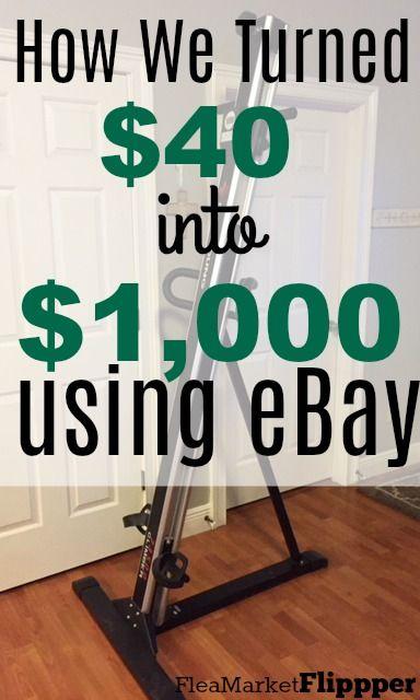 Using EBay To Turn $40 Into $1,000 |