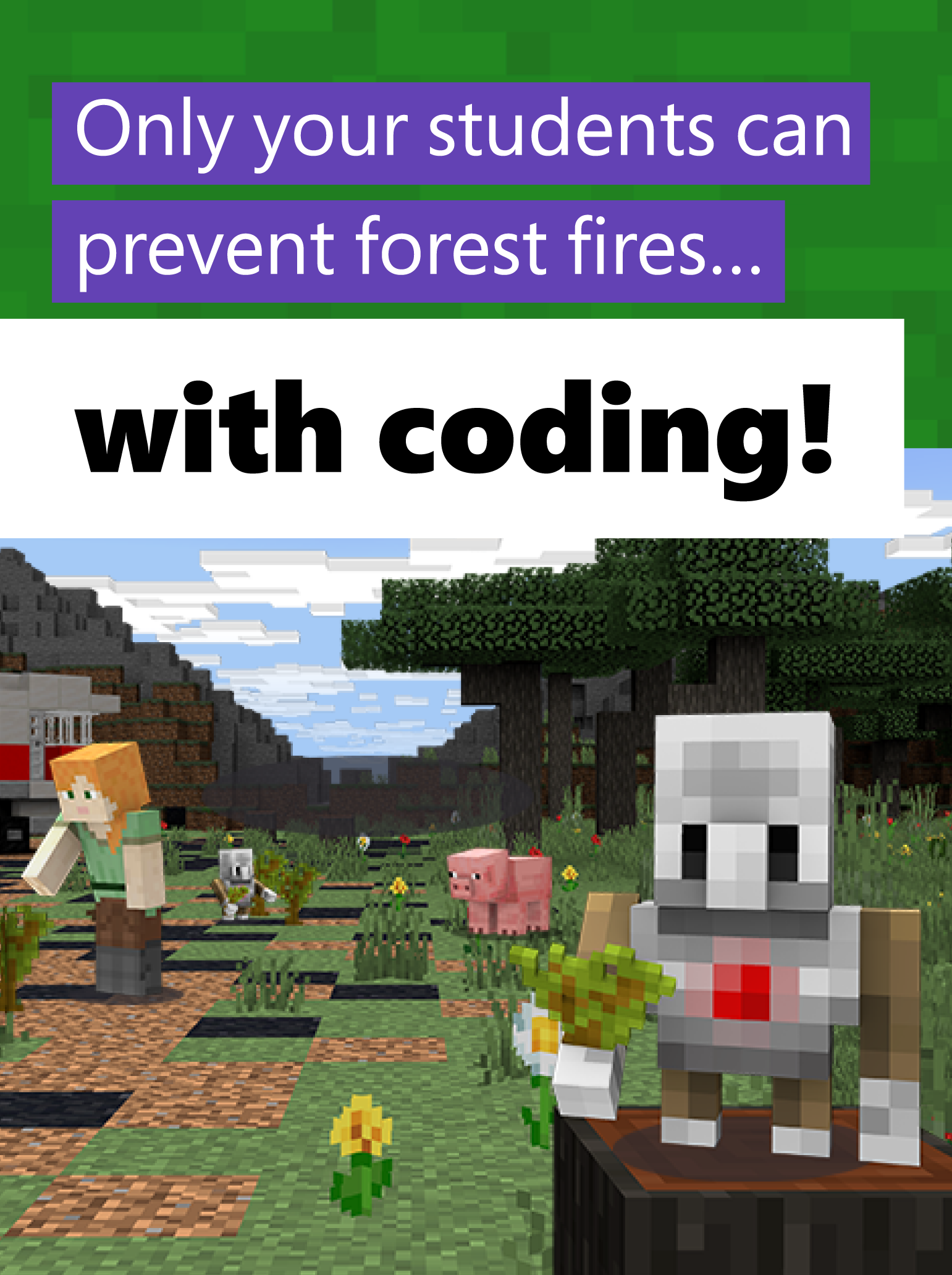 Minecraft Education Edition Coding Activity Computational Thinking Basic Coding Teaching Computers
