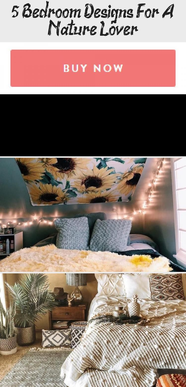 20 Bedroom Designs For A Nature Lover   Decor   Bohemian bedroom ...