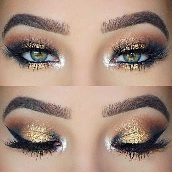 Image result for homecoming makeup eyes