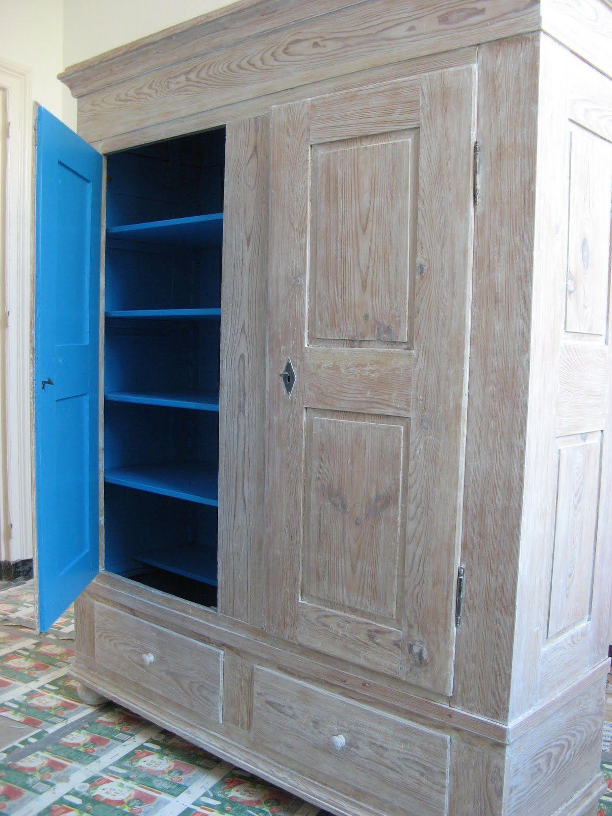 Kast Whitewash Kleur Binnenin Crea Tall Cabinet Storage