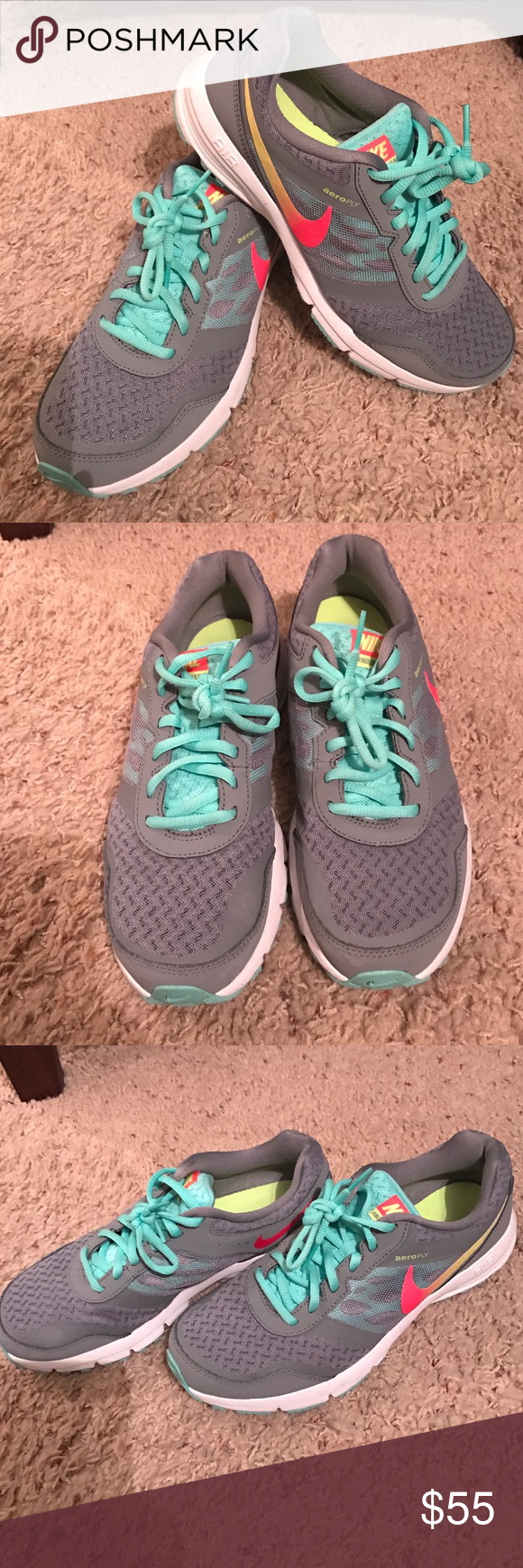 Nike Air Relentless 4 Like Brand new Nike brand tennis shoes. Only worn once. Absolutely nothing wrong with them. Nike Shoes Athletic Shoes