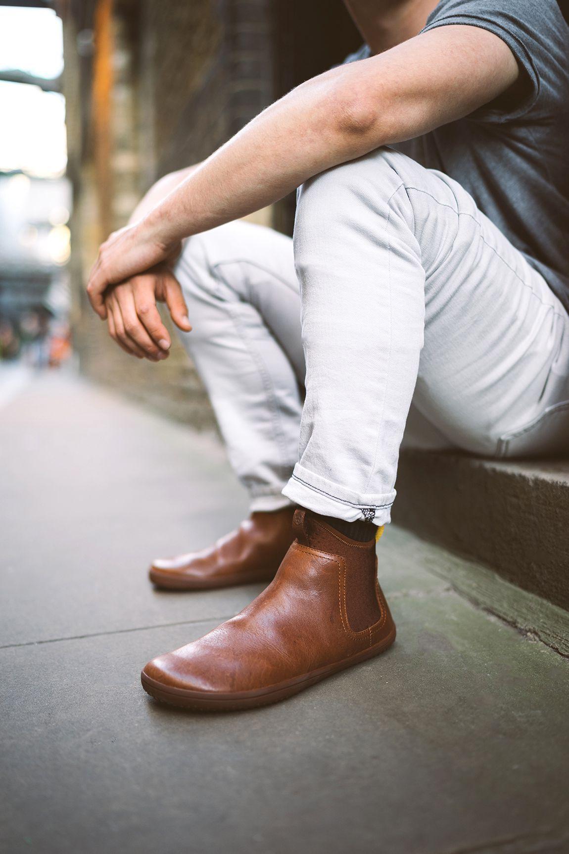 c4a9c1e52bfd1 Vivobarefoot Men s City Prooffor    Men s Minimalist Barefoot Neoprene    Leather Shoe
