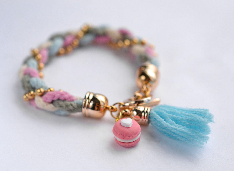 Macaron Sweater Bracelet-Scented-Food Jewelry