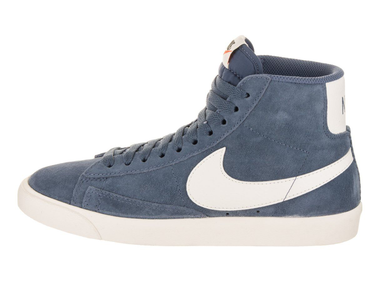 new styles 2a53e 4f916 NIKE Womens Blazer Mid VNTG Suede Diffused Blue Sail Casual Shoe 8 Women US  -- Check this awesome product by going to the link at the image.