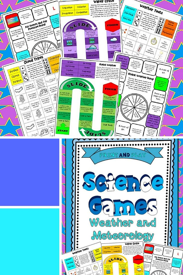 5th Grade Science Games Weather And Meteorology Science Games 5th Grade Science Elementary Learning