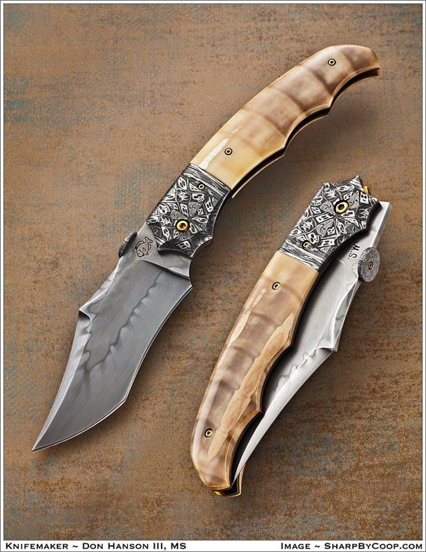 Click To View Large Image Don Hanson Custom Knives Steel Dreams