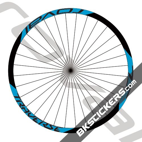 Wheel Sticker Set for EASTON HAVEN Mountain Bike Bicycle Decal Rim Reflective